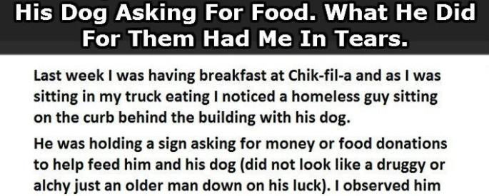 homelessmanfood